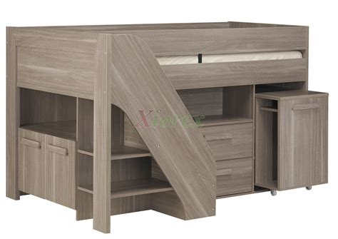 Cabinet Beds Ikea gami hangun youth cabin loft beds with stairs amp desk for