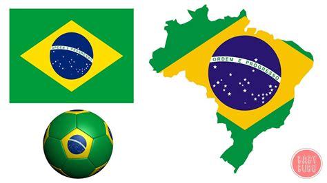 brazil colors brazil flag colors coloring page represent color