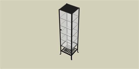 Klingsbo Glass Door Cabinet Sketchupmodelgallery Easysketchup
