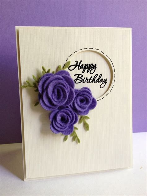 Handmade Beautiful Birthday Cards - beautiful handmade birthday cards can make yourself