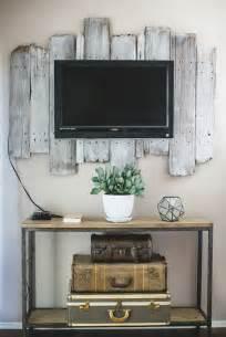 tv wall decor ideas 9 awesome diy frames for your flatscreen tv architecture design