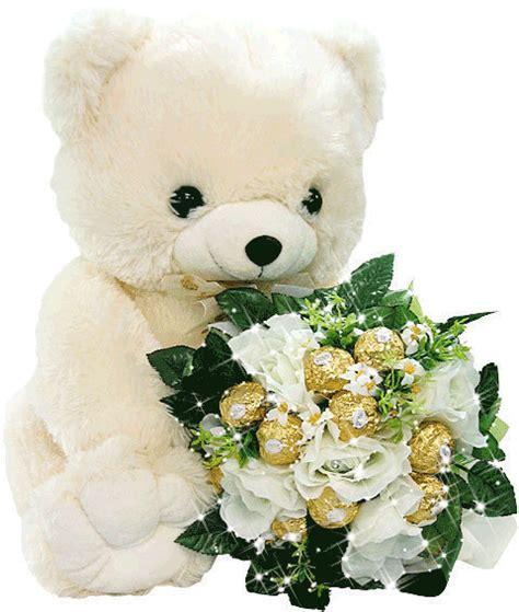 imagenes de rosas y ositos osito y flores