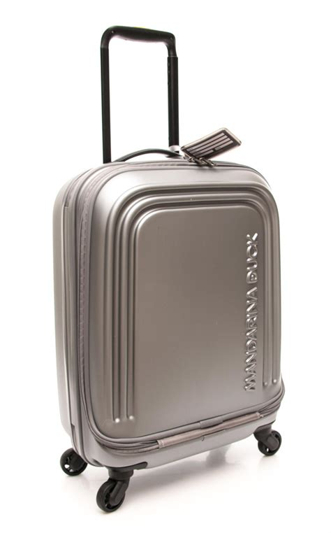 mandarina duck cabin luggage mandarina duck trolley logoduck line luggage