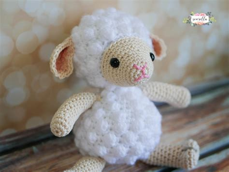 Amigurumi Lamb Pattern Free | free pattern the most adorable little lamb amigurumi toy