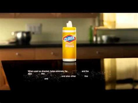 clorox disinfecting wipes commercial pull youtube