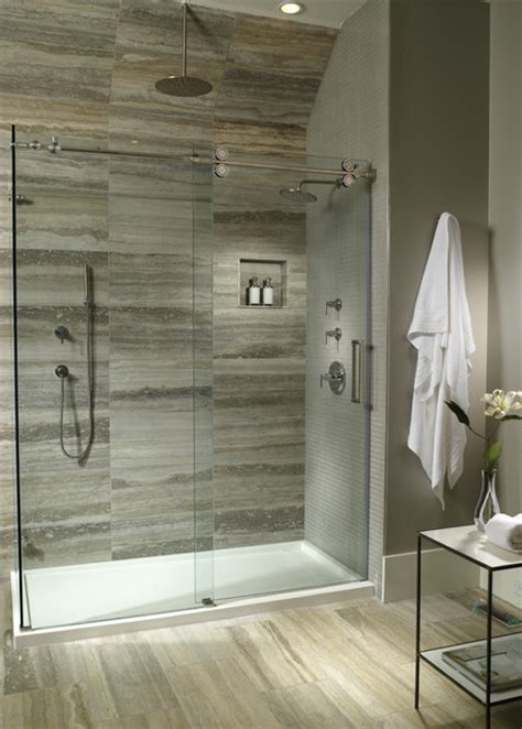 Shower Is Low by Mti Low Profile Threshold Shower Base