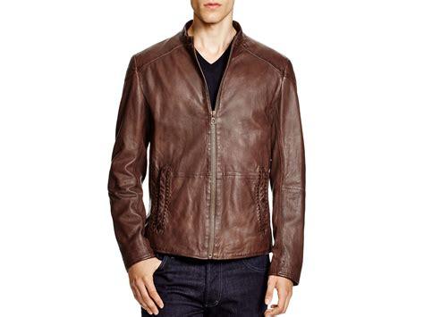 Hugo Bos Black 187 hugo orange leather jacket black