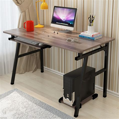 Fashion Office Desktop Home Computer Desk Simple Modern Simple Desks For Home Office