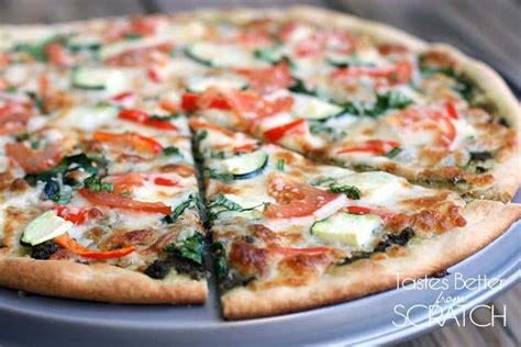 vegetables pizza healthy vegetable pizza recipe