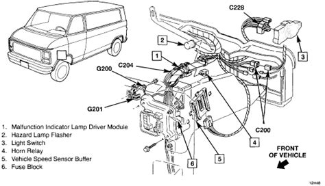 94 chevy g20 sd sensor location get free image about