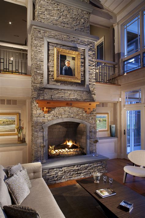 Nantucket Stacked Fireplace by Stacked Eldorado