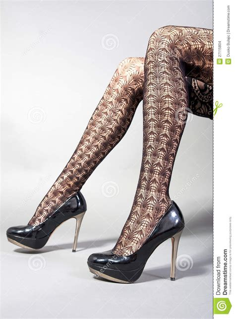 legs high heel shoes stock images image 27115804