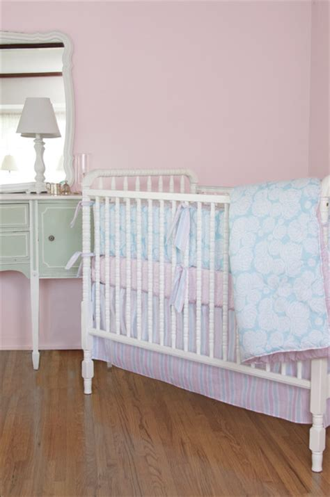 Contemporary Crib Bedding Sea Nursery Crib Bedding Contemporary Baby Bedding Los Angeles By Tatum