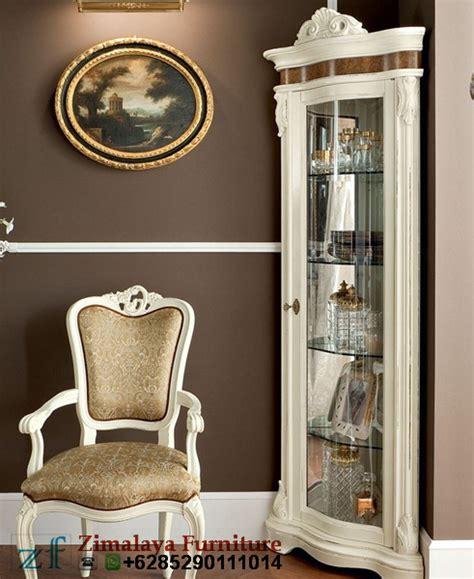 Sudut Hias lemari hias sudut mewah zimalaya furniture