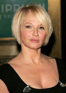 best layered bob haircuts for 50 ellen barkin short bob hairstyles for women over 50