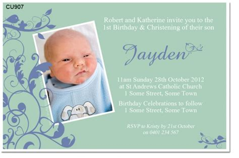 invitation for christening boy gallery invitation sle
