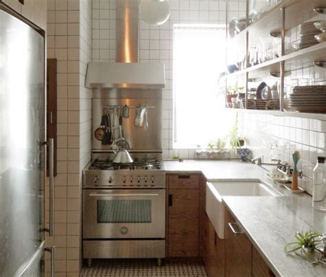 new york modern modern kitchen new york by a small new york city apartment kitchen is made light