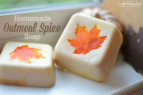 How To Make Handmade Soap - soap tutorial oatmeal spice for fall