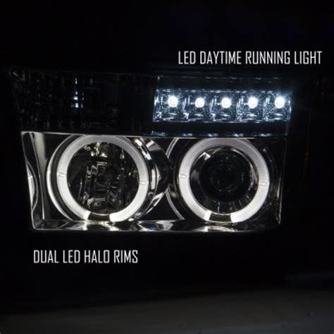 Lu Projector Toyota toyota tundra 2007 2012 smoked projector headlights and led lights a103lu6y101