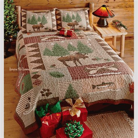Moose Quilt by Moose Lodge Quilt Set