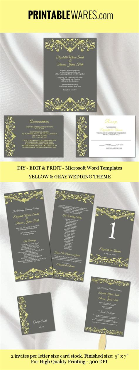 Enclosure Card Template Microsoft Word
