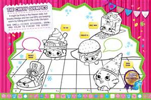 free coloring pages shopkins choklate