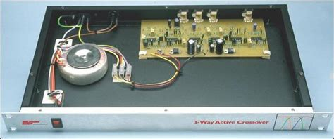 Box 3 Way Professional Active Crossover silicon chip active 3 way crossover for loud speaker systems