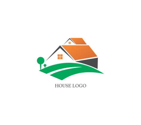 home design logo free frervector house logo clipart best