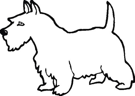scottie dog coloring page free coloring pages of scottie dogs