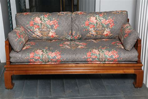 michael baker furniture asian style sofa at 1stdibs