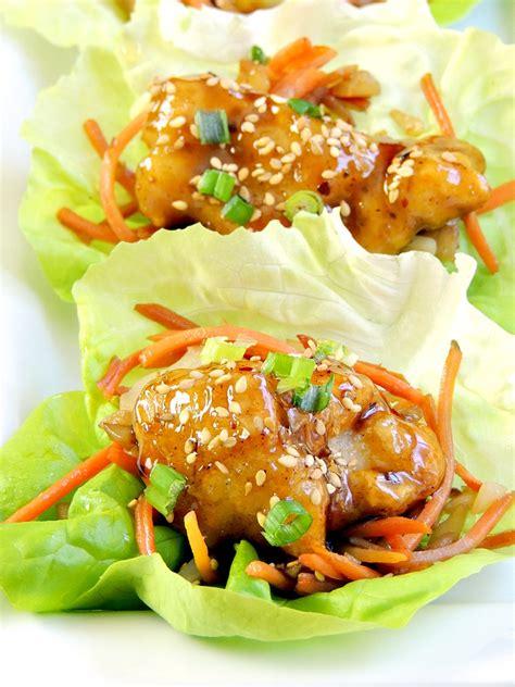 Lettuce General general tso s chicken lettuce wraps s kozy kitchen