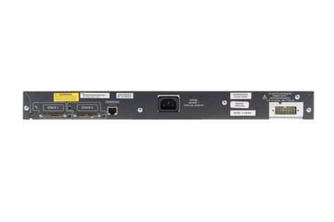 Switch Cisco 3750 ws c3750 24ps e ws c3750 48ps e cisco catalyst 3750 switch