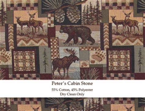 home decor upholstery fabric regal fabrics peters cabin peters cabin stone fireside lodge fabric log furniture