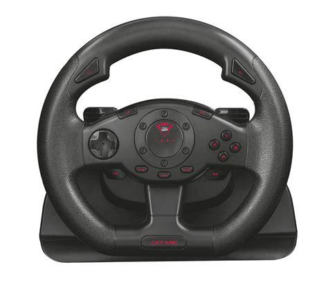 giochi volanti trust gxt 580 volante da corsa con feedback a vibrazione