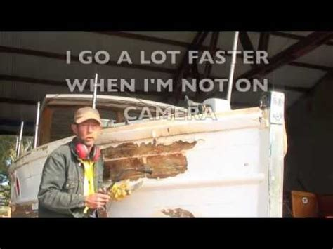 wooden boat repair videos wooden boat repair fire youtube