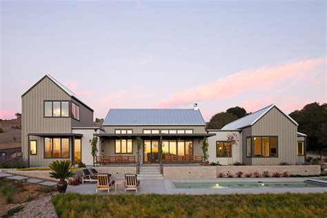 Contemporary Farm House | modern farmhouse arroyo grande semmes co builders inc