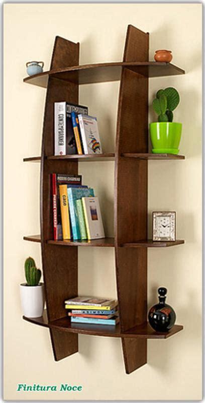 libreria fantasia libreria in legno mod fantasia noce 75x30xh150 cm