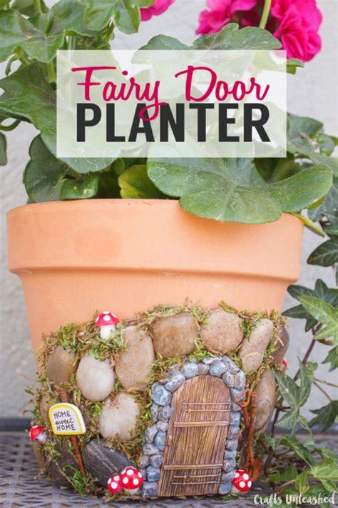 diy fairy house planter home design garden
