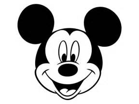mickey mouse head outline cliparts
