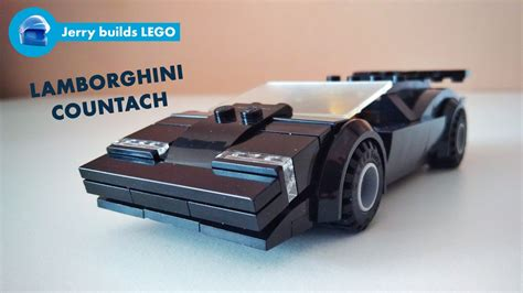 Lego Lamborghini Countach by Lego Moc 10600 Lamborghini Countach Speed Chions 2017