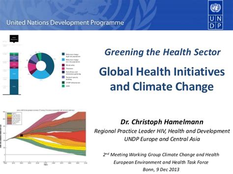 Ivey Health Sector Mba by Greening The Health Sector Global Health Initiatives And