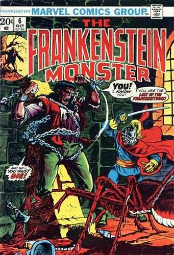 frankenstein of a chion books frankenstein marvel comics