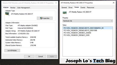 tutorial install windows 7 64 bit imac windows 10 ati radeon hardware ids joseph lo s
