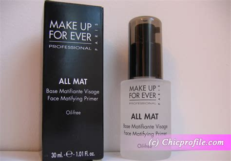 Makeup Forever All Mat Primer by Review Make Up For All Mat Matifying Primer