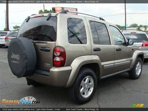 2006 Jeep Liberty Crd 2006 Jeep Liberty Crd Limited 4x4 Light Khaki Metallic