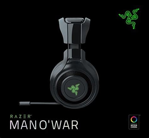 Razer O War 7 1 Green Surround Gaming save 25 on razer mano war wireless 7 1 surround sound gaming headset compatible with pc