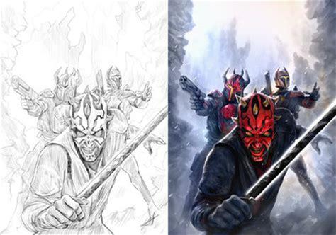 wars darth maul of dathomir darth maul of dathomir variants by chrisscalf on