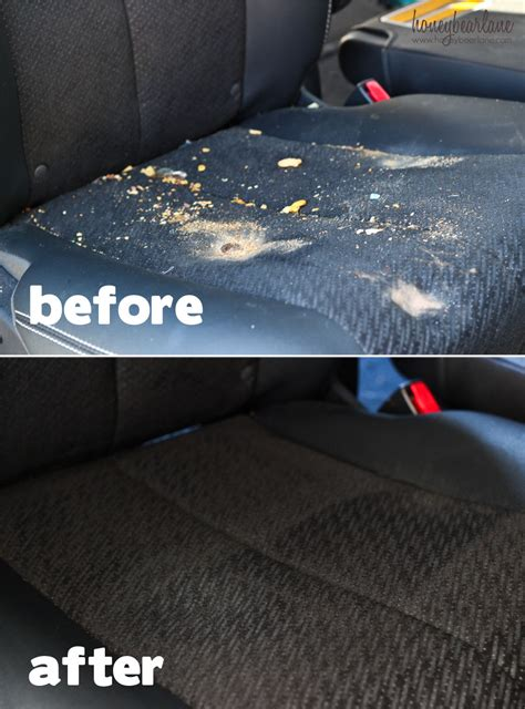how to deep clean car upholstery how to detail your car yourself honeybear lane