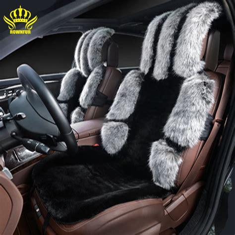 types of car seat covers auto 2016new black gray faur fur car seat cover car seat covers
