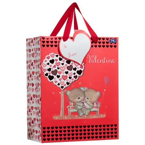 valentines gift bags b m to my gift bag s day gifts